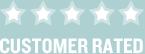 5 Star Customer Rated logo