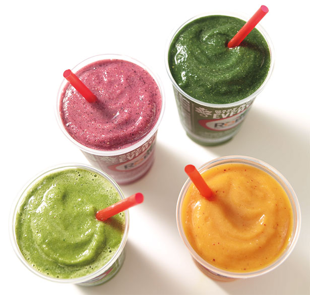 Robeks fruit Robeks fruit and vegetables are either fresh or flash frozen to preserve enzymes and nutrients.