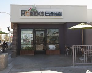A Robeks fresh juices and smoothies franchise offers healthy alternatives to fast food for people on the go.