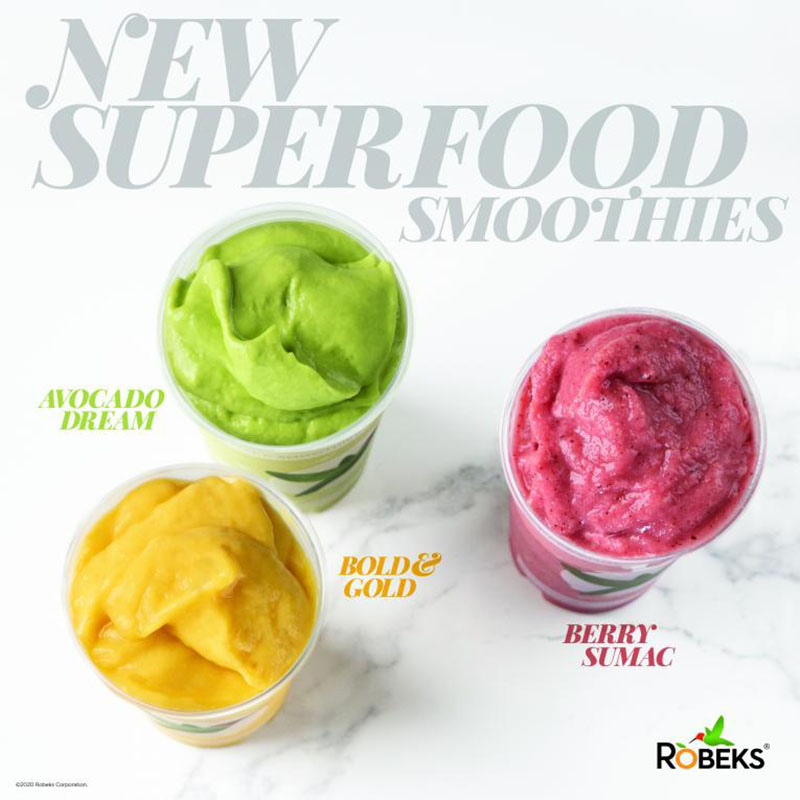 Robkes New Superfood Smoothies